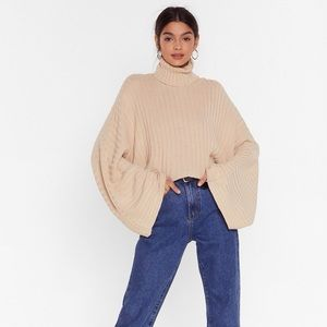 Nasty Gal Call Knit A Day Sweater